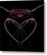 What Do You See Metal Print