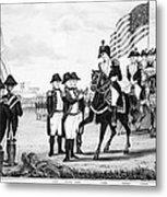 Yorktown: Surrender, 1781 Metal Print