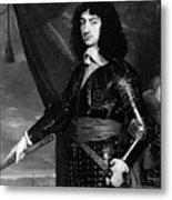 Charles II (1630-1685) Metal Print