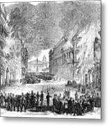 Paris Commune, 1871 Metal Print
