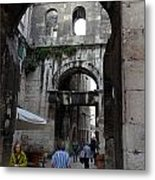 Views Of Split Croatia Metal Print
