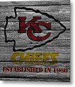 Kansas City Chiefs Metal Print