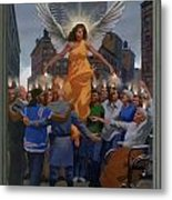 23. The Holy Spirit Arrives / From The Passion Of Christ - A Gay Vision Metal Print