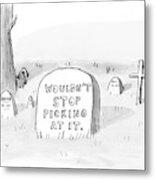 New Yorker October 16th, 2006 Metal Print