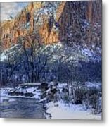Zion National Park Utah Metal Print by Utah Images