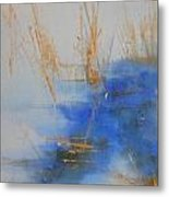 Abstract Exhibit Metal Print