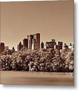Central Park Autumn Metal Print