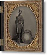 Civil War Soldier, C1863 Metal Print
