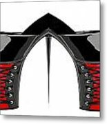 Shoe Love Metal Print