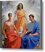 24. The Trinity / From The Passion Of Christ - A Gay Vision Metal Print