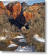 Zion National Park Utah Metal Print