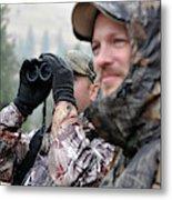 Hunting In Oregon Metal Print