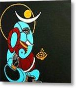 25 Varadavinayaka Ganesh Metal Print