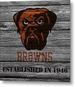 Cleveland Browns Metal Print
