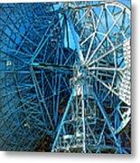 26 East Antenna Abstract 1 Metal Print