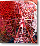 26 East Antenna Abstract 2 Metal Print