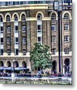 Hays Galleria London Metal Print