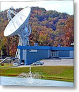 26 West Antenna And Research Building Metal Print