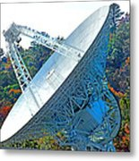 26 West Antenna Filtered Metal Print