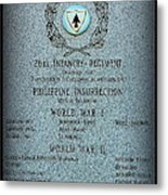 26th Infantry Regiment History Metal Print