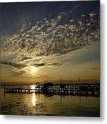 An Outer Banks Of North Carolina Sunset Metal Print