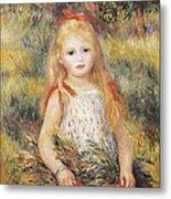 Renoir, Pierre-auguste 1841-1919 Metal Print