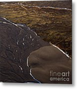 Aerial Photo Metal Print