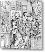 Dance Of Death, 1538 Metal Print