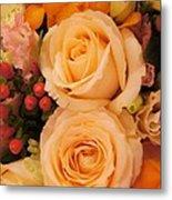 Flowers For You Metal Print by Gornganogphatchara Kalapun
