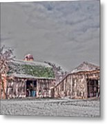 29 Mile Road Barn Metal Print