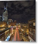 2nd Ave And Broadway Metal Print