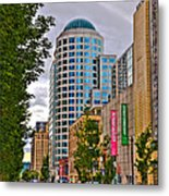 2nd Avenue - Seattle Washington Metal Print