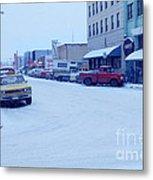 2nd Street Fairbanks Alaska 1969 Metal Print