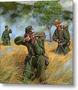 2nd United States Sharpshooters Berdan's Metal Print