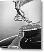 1932 Auburn 12-160 Speedster Hood Ornament Metal Print