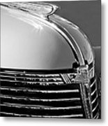1933 Chevrolet Hood Ornament Metal Print