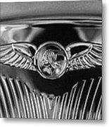 1933 Pontiac Emblem Metal Print
