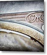 1938 Gmc Hood Ornament Metal Print