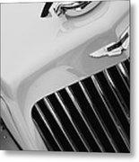 1939 Aston Martin 15-98 Abbey Coachworks Swb Sports Grille Emblem Metal Print