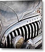 1947 Buick Eight Super Grille Emblem Metal Print