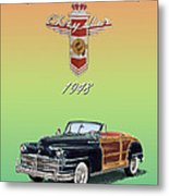 1948 Chrysler Town And Country Metal Print
