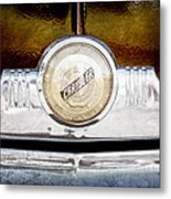 1949 Chrysler Windsor Grille Emblem Metal Print