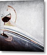 1949 Ford Hood Ornament Metal Print