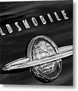 1950 Oldsmobile 88 Emblem Metal Print