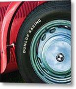 1952 Frazer-nash Le Mans Replica Mkii Competition Model Tire Emblem Metal Print