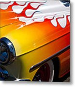 1954 Chevy Bel Air Custom Hot Rod Metal Print