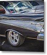 1957 Chevrolet Bel Air Metal Print
