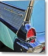 1957 Chevrolet Belair Taillight Metal Print