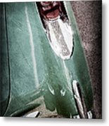 1957 Chevrolet Corvette Taillight Metal Print