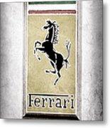1959 Ferrari 250 Gt Emblem Metal Print
